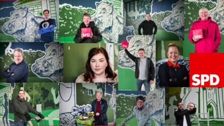 Collage mit allen Kandidierenden